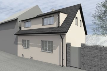 Projekt rekonstrukce rodinného domu