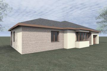 Projekt přístavby rodinného domu